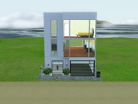 Sims 3 Updates The Sims Resource Small Modern 1 house by fahime