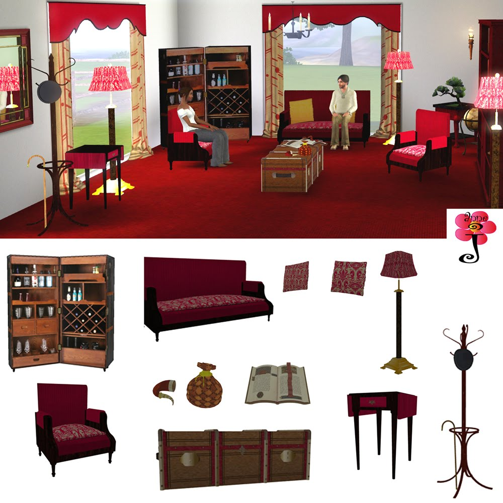 Decoration Access: Sims Furniture