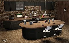 Sims 3 kitchen, cabinets