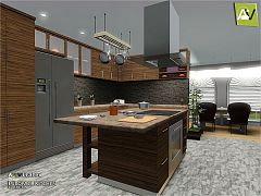 Sims 3 kitchen, cabinets, furniture