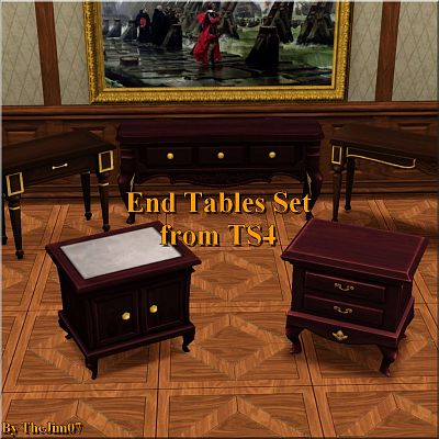 Sims 3 end table, furniture