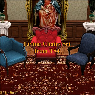 Sims 3 chair, furniture