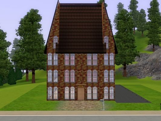 Sims 3 church, cathedral