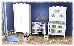 Sims 3 kidsroom, bedroom, furniture, nursery