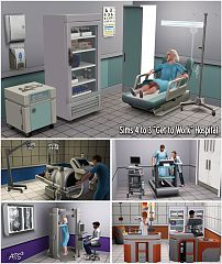 Sims 3 furniture, objects, set