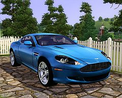 Sims 3 aston, martin, db9, car, cars