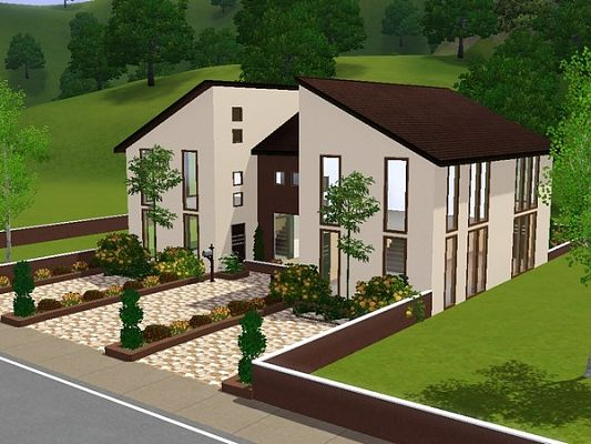Sims 3 Updates AkiSIMa House available at AkiSIMa