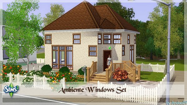 Sims 3 windows, build, set