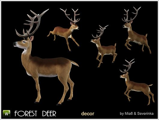 Sims 3 animals, decor, objects