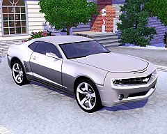 Sims 3 chevy, camaro, car, cars