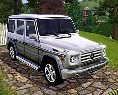 Sims 3 mercedes, benz, g550, car, cars