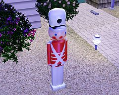Sims 3 christmas, toy, soldier, decorative, object