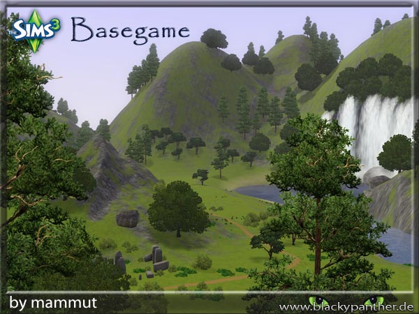 Sims Updates Downloads Objects Neighbourhood Page - Blank world map sims 3