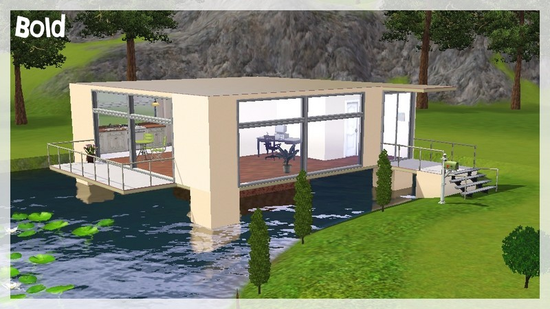 Plan Maison Sims 3 Pc. Trendy Sims Desperate Housewives Houses ...