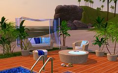 Sims 3 outdoor, garden, furniture, objects