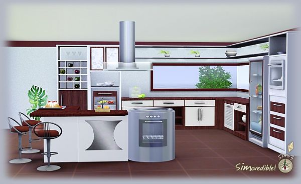 Sims 3 Kitchen Designs