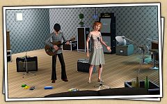 Sims 3 music, set, objects, electronics