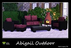 Sims 3 garden, objects, decor, outdoor