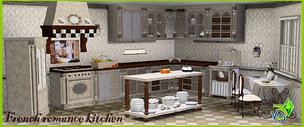 sims 3 cc furniture. sims 3 kitchen room furniture objects set cc o