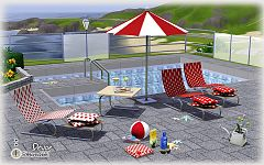 Sims 3 patio, outdoor, garden, furniture