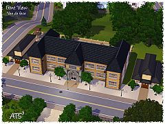 Sims 3 school, toddlerhood house, youth house, community