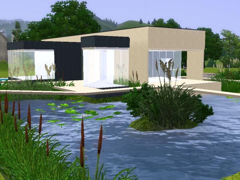Modern Houses Sims 3 Modern House
