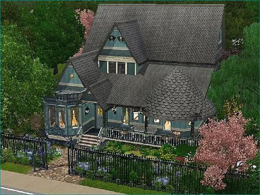 sims 3 updates - : victorian house anno 1899kyria t