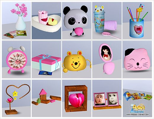 Sims 3 Objects Decor Kids