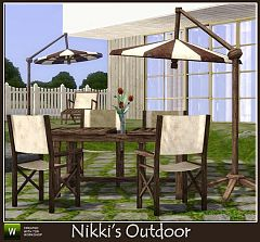 Sims 3 outdoor, furniture, objects