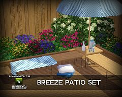 Sims 3 outdoor, objects, furniture, decor