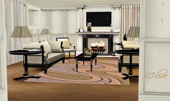 Living room sets sims 3 interior design styles for Sims 3 living room sets
