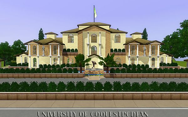 Sims 3 house, lot, art, architecture, home