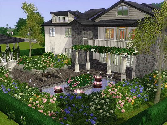 sims 3 updates - the sim supply: 1 lloyd hills -suburban house with