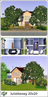Sims 3 residential, house, lot