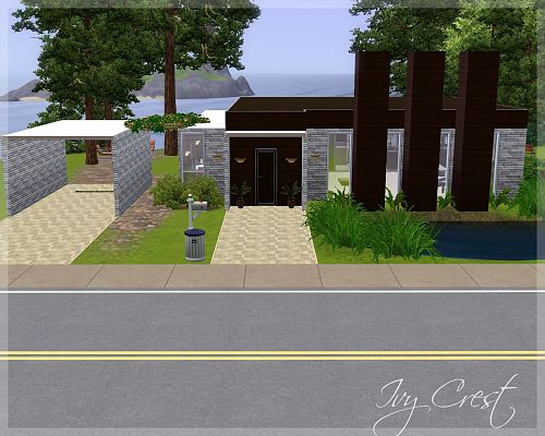 Sims 3 residential, house, furniture