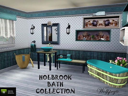 Sims 3 bath, bathroom, objects, decor