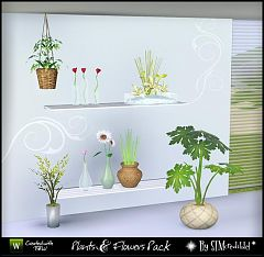 Sims 3 plants, flowers, objects, decor