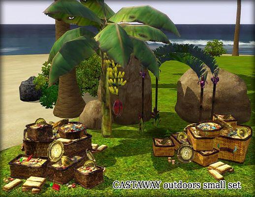 sims 3 updates onemoresim castaway outdoors set by blacksweety