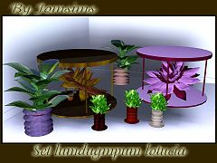Sims 3 flowers, plants, decor