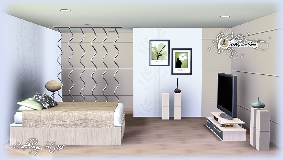 Bedroom Designs Sims 3 sims 3 updates - simcredible designs: calling stars bedroom set