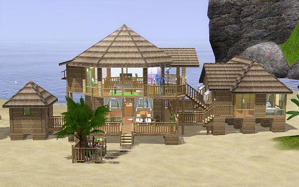 Sims 3 Beach House Blueprints