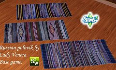 Sims 3 rugs, decor, russian, objects