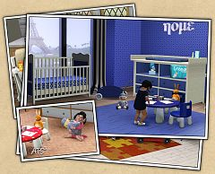 Sims 3 nursery, kids, furniture, decor, toys