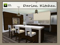 Sims 3 kitchen, furniture, decor