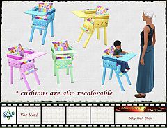 Sims 3 chair, furniture, kids, baby