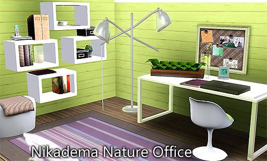 Attractive Sims 3 Furniture, Office, Study, Objects
