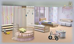 Sims 3 kids, room, furniture, decor