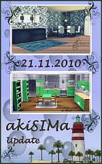 Sims 3 diningroom, kitchen, furniture, decor, objects