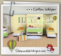 Sims 3 bedroom, kids, furniture, decor, objects