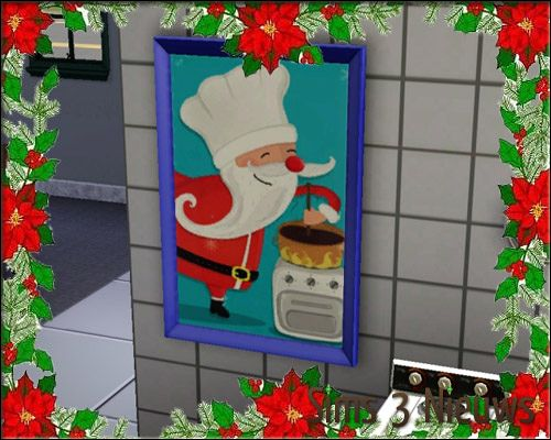 Sims 3 paint, paintings, decor, decoration